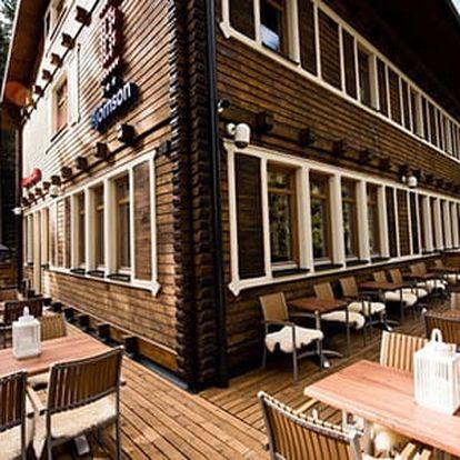 Podzim a zima v legendárním hotelu Björnson uprostřed lyžařského střediska Jasná