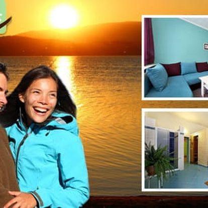 Podzimní LAST MINUTE pro dva v Hotelu Racek na břehu Lipenské přehrady s polopenzí a privátním vstupem do vířivky, platnost do 22. 12. 2016