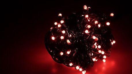 Vánoční světelný řetěz 90 LED 10 m venkovní