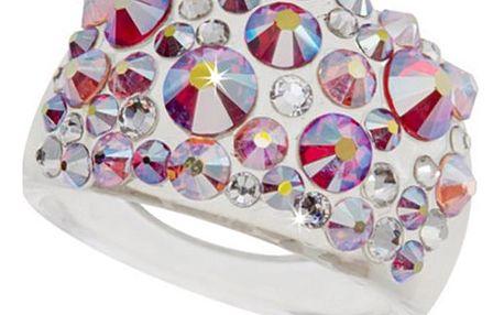 Fashion Icon Prsten Bubble akryl Swarovski elements