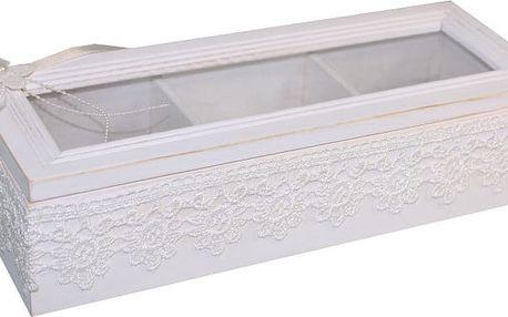 Bílý box na šperky Antic Line Jew