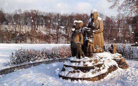 1denní adventní zájezd do Babiččina údolí v Ratibořicích pro 1 osobu