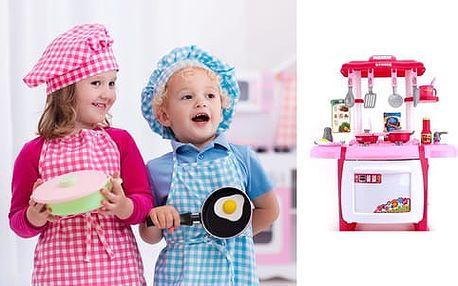 Dětská kuchyňka s troubou a zvukovými efekty