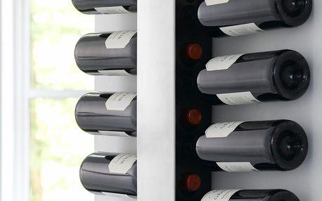 Nástěnný stojan na lahve vína Steel Function Winerack - doprava zdarma!