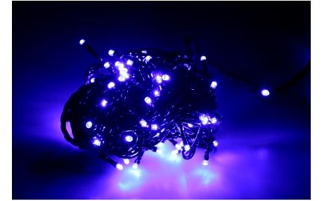 Vánoční světelný řetěz 90 LED 10 m interiérový