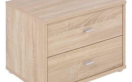 Noční stolek 4-you yuk12 *cenový trhák*, 50/38.1/35.2 cm