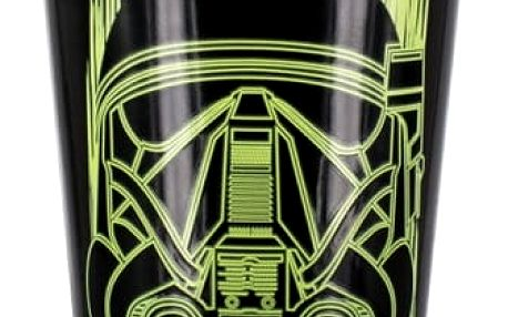 Sklenička měnící barvu Death Trooper Star Wars 450 ml