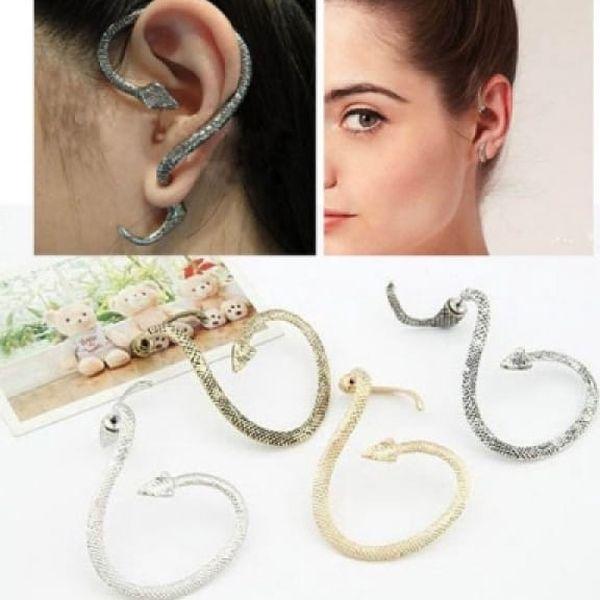 Náušnice na ucho s motivem hada - dodání do 2 dnů