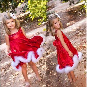 Dívčí vánoční šatičky