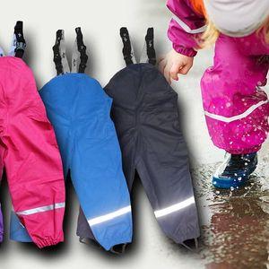 Dětské termo kalhoty do deště