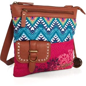 Pestrobarevná kabelka SKPA-T, 25 x 26 cm