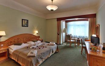 Relaxační pobyt v Mariánských Lázních na 3 dny pro DVA s polopenzí a wellness procedurami v Parkhotelu Golf ****
