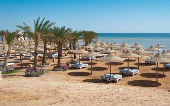 Hotel Nubia Aqua Beach Resort, Egypt, Hurghada, 5 dní, Letecky, All inclusive, Alespoň 4 ★★★★, sleva 32 %, bonus (Levné parkování u letiště: 8 dní 499,- | 12 dní 749,- | 16 dní 899,- )