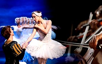 Vstupenky na balet Labutí jezero, Romeo a Julie nebo koncert Hudba Pražského hradu
