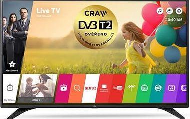 Televize LG 55LH6047 černá