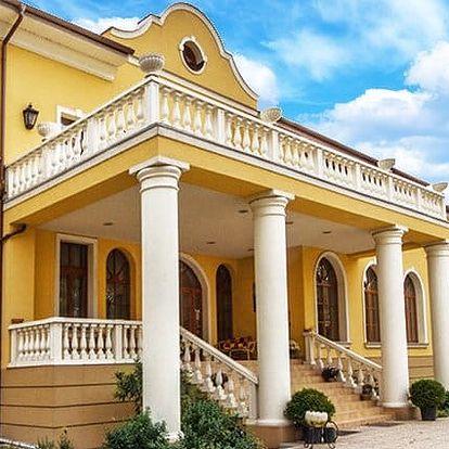 3–5denní pobyt s polopenzí a saunou v hotelu Plauter Kúria*** ve Veľkém Mederu pro 2