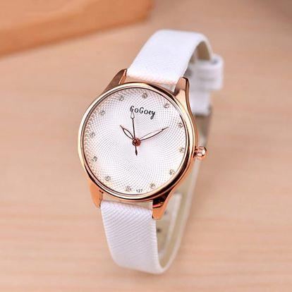Dámské ležérní hodinky s příjemným ciferníkem - 5 barev