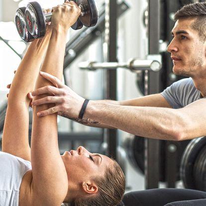 Konzultace a hodina cvičení s osobním trenérem