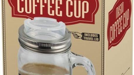 Hrnek na kávu Mason Jar