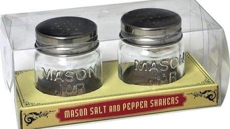 Solnička a pepřenka Mason Jar