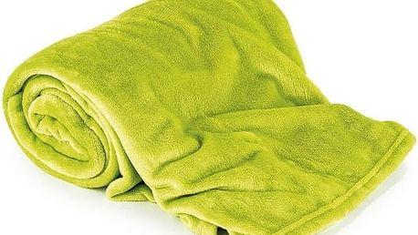 Extra měkká a jemná deka z mikrovlákna Soft Dreams světle zelená 200x230 cm