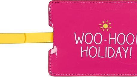 Jmenovka na kufr Happy Jackson Woo Hoo