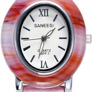 Dámské hodinky s oválným ciferníkem - 3 barvy