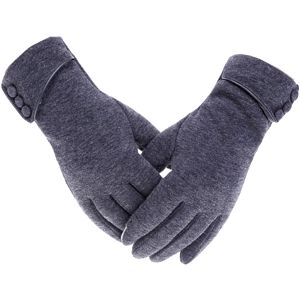 Módní fleecové rukavice pro dámy - mix barev