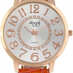 Dámské hodinky s velkým ciferníkem a čísly - několik barev