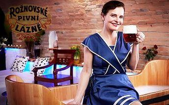 VIP Rothschildova péče v Rožnovských pivních lázních s procedurami, degustačním menu a ubytováním v 3* hotelu