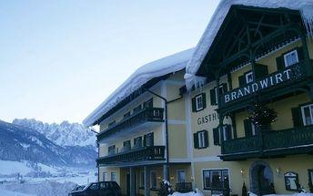 Silvestr na horách: Rakousko - Dachstein West na 8 dní, polopenze s dopravou vlastní