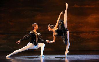 Balet v divadle Hybernia: Představení Labutí jezero, exkluzivní místa v sekci A