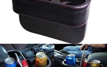 Držák na nápoje a drobnosti do auta