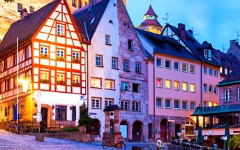 Celodenní zájezd za vánočními trhy a nákupy do kouzelného Norimberku pro 1 osobu.