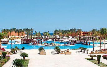 Hotel Resta Grand Resort, Egypt, Marsa Alam, 5 dní, Letecky, All inclusive, Alespoň 5 ★★★★★, sleva 22 %, bonus (Levné parkování u letiště: 8 dní 499,- | 12 dní 749,- | 16 dní 899,- )