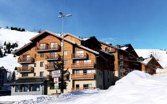 Silvestr na horách: Francie - Alpe d´Huez na 8 dní, bez stravy s dopravou vlastní