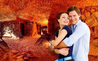 Privátní pobyt v solné jeskyni na Letné pro rodinu, přátelé či pár na 50 min. + káva a čaj