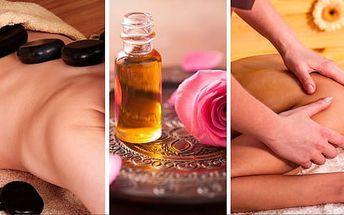 Kombinovaná masáž podle výběru v délce 90 minut