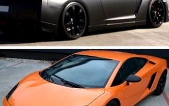 Showcars! Jízda snů v délce 20 min. rychlostí až 300 km/hod! Na výběr 10 luxusních supersportů.