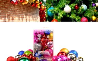 Sada vánočních koulí - 20 ks