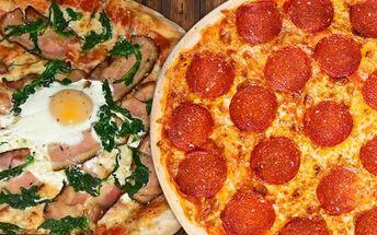 2 pizzy k nakousnutí přímo v centru města