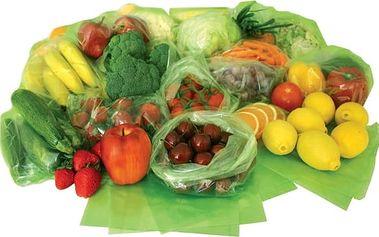 Sáčky na uchovávání ovoce a zeleniny- Green bags
