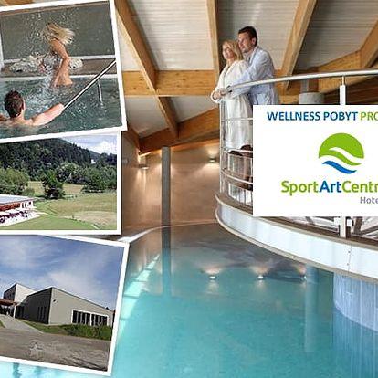 Až 4 dny pobytu s polopenzí včetně wellness a dalších procedur pro dva v luxusním hotelu Sportartcentrum **** přímo v srdci Beskyd za 3.999 Kč