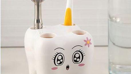 Stojan na zubní kartáčky Zoubek