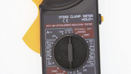 Klešťový ampérmetr