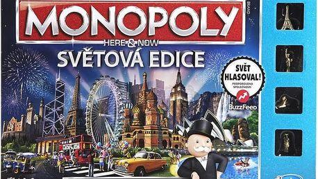 Hra Hasbro Monopoly Here and now světová edice