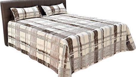 Manželská postel Monaco včetně roštu a kvalitní matrace