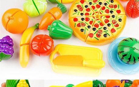 Dětský set - krájení ovoce a zeleniny