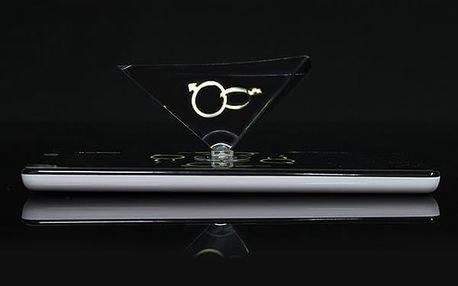 Holografická pyramida pro smartphone - 3D zobrazení
