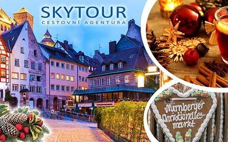 Vánoční atmosféra Norimberku, celodenní zájezd na největší adventní trhy vEvropě. Předvánoční doba je v Norimberku kouzelným časem vánočních příprav. Město je vyhlášené svými úchvatnými vánočními trhy, a vzhledem ktomu, že se nachází nedaleko českých hr